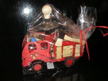 Geschenke Flasche für Feuerwehrmann,