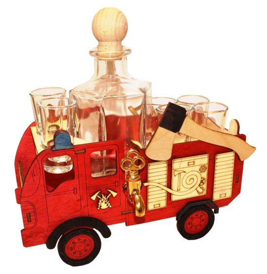 Geschenke Flasche für Feuerwehrmann