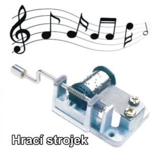 Musikmaschine, Spielzeug für Kinder mit der Melodie