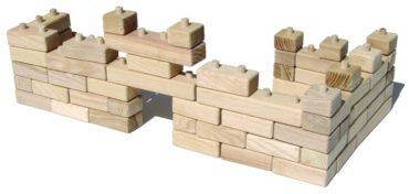 Faltwürfel aus Holz Spielzeug