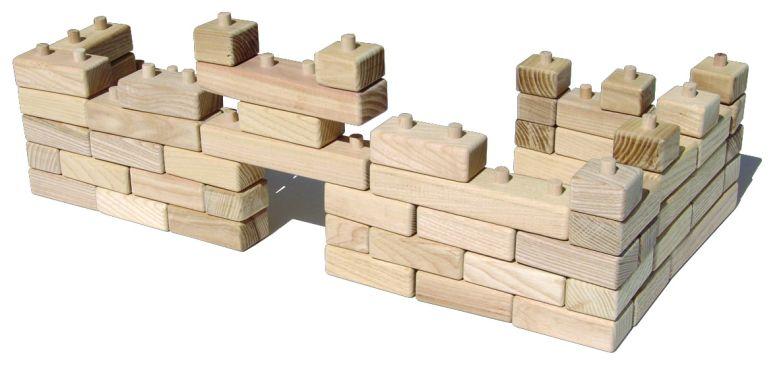Klappblöcke aus Holz Holzspielzeugčka