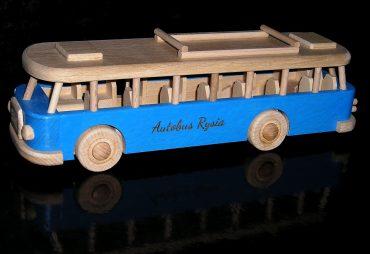 Kinder Bus Spielzeug blau