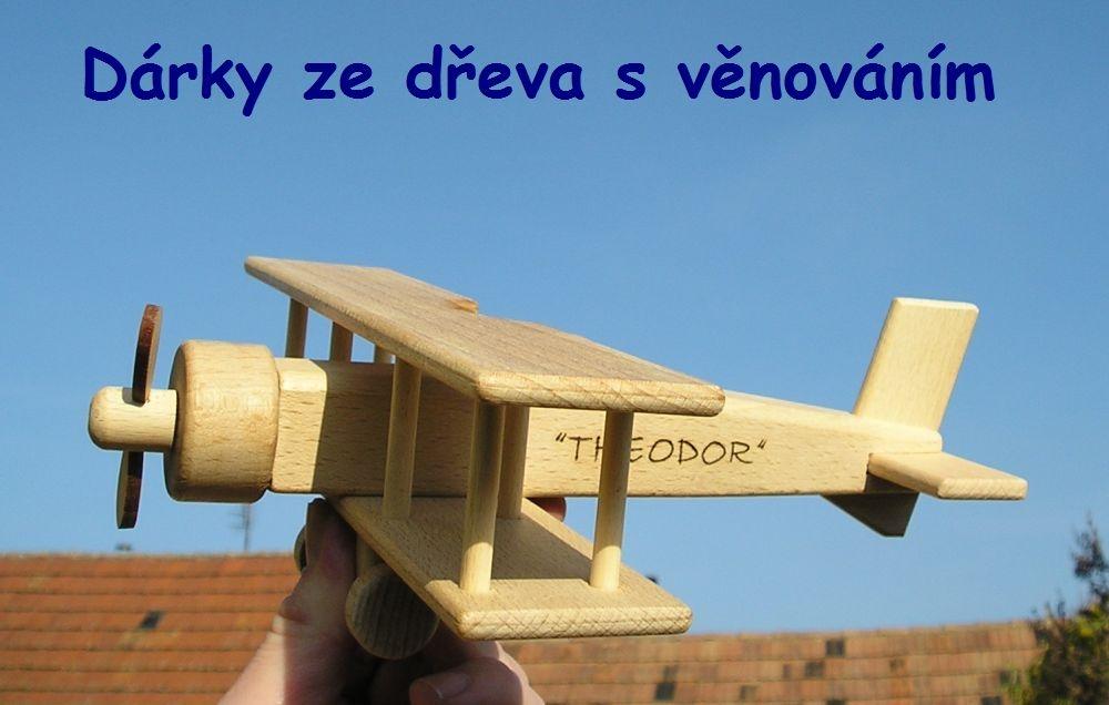Holzflugzeug, Spielzeug für Kinder, Flugzeuge, Spielzeug mit dem Namen hračky