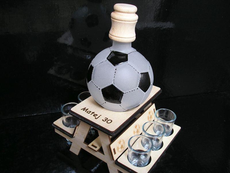 Geschenk für Fußballspieler Ballflasche