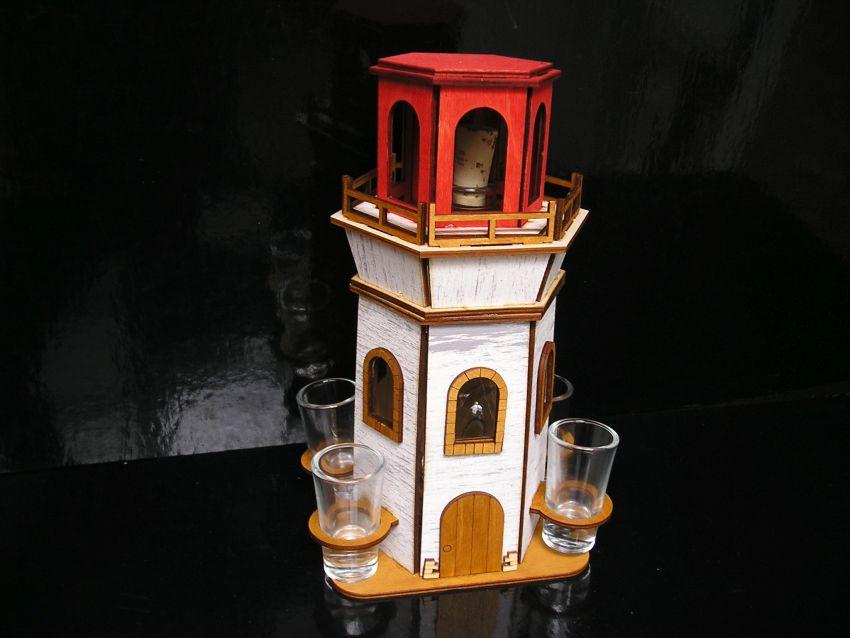 Geschenk für einen Seemann eine Alkoholflasche