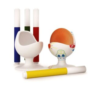 Eierbecher für Kinder zum Malen