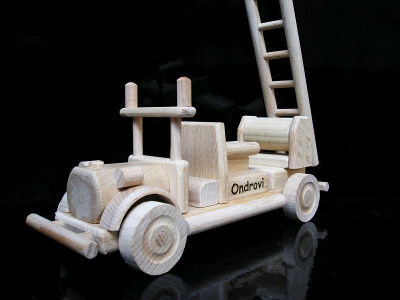 LKW Holzspielzeug Geschenke für Feuerwehrleute