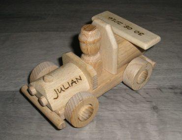 Holzspielzeugauto + LKW für Kinder Holzspielzeug Geschenke für Fahrer