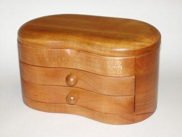 Luxus Holz Schmuckschatulle Geschenk