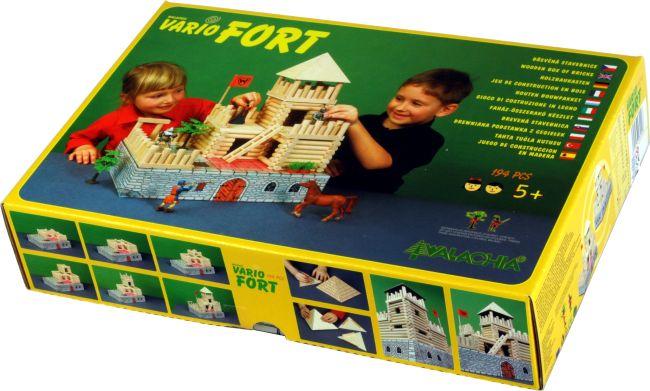 Schloss Holzbausteine für Kinder, Spielzeug