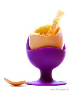 Ständer, gekochter Eierbecher mit Saugnapf, Silikonformen
