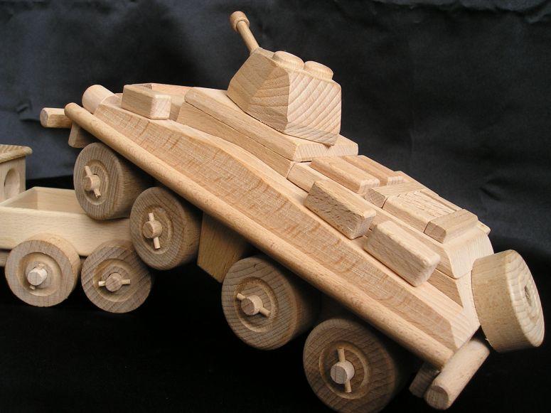 Militärtransporter, Panzer. Holzspielzeug, Geschenke für SoldatenA
