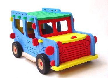 Riesiger Jeep Offroad-Bausatz, großes Schaumstoffspielzeug
