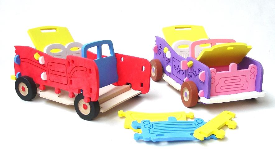 ger Jeep Offroad-Bausatz, großes Schaumstoffspielzeug