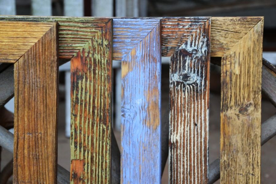 Reprodukcie ruských maliarov obrazu v krásnom retro drevenom ráme.