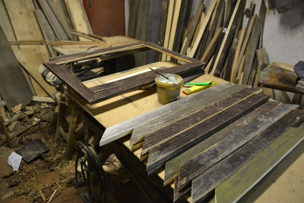 Drevené rámy, rámčeky a fotorámčeky pre maliarov, obrazy, reprodukcie.