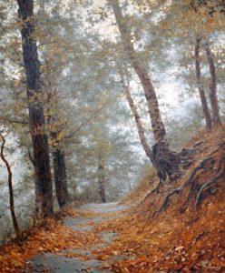 priroda krajina reprodukcie obrazov drevené ramy