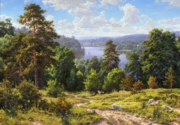 priroda krajinaReprodukcie slávnych obrazov