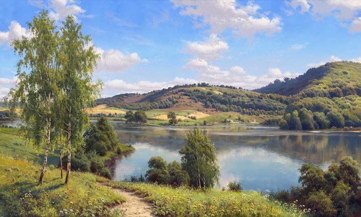 priroda krajina rreprodukcie obrazov drevené ramyrevené retro rámy