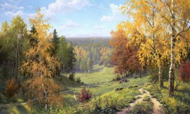 priroda krajina Obrazy - Starí majstri revené ramyrevené retro rámy