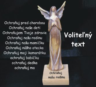 Anjel dekoracia soška