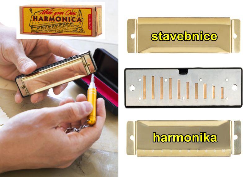 DIY Wind Akkordeon Kit Kindermusikinstrumente