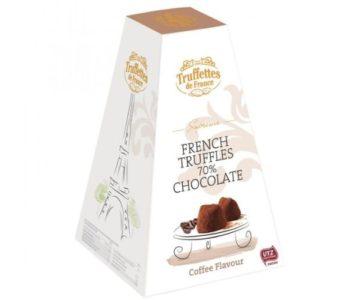 Schokoladentrüffel mit Cappuccino-Trüffel-Geschmack