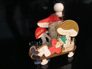 Geschenk für Pilzsammler Geschenkkorb für Pilzsammler Pilz Geschenkkorb