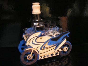 Geschenke für Biker Motorradflasche