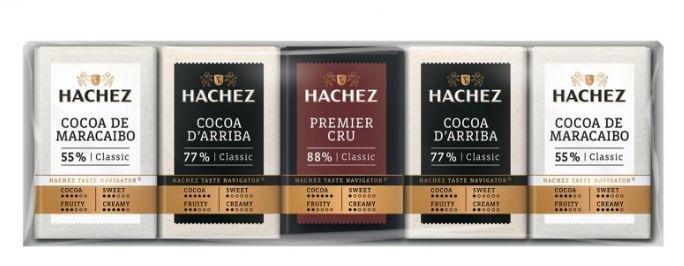 Mini-Milchschokoladen, heiß und extra heiß HACHEZna-horka-a-extra-horka